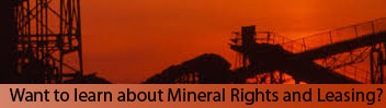 Learn More About Mineral Rights Issues