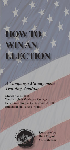 Campaign Seminar: How to Win an Election